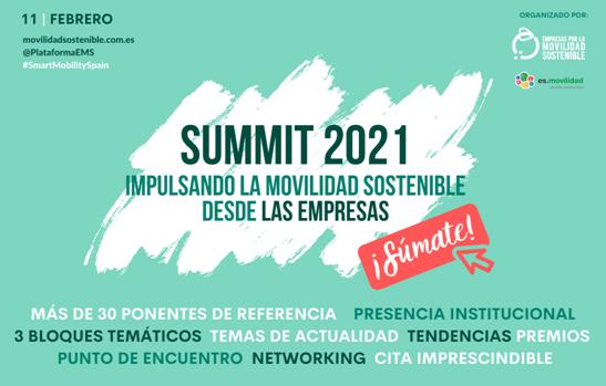 Sumit 2021 movilidad sostenible