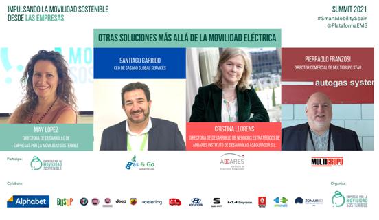Summit 2021 - empresas impulsando la movilidad sostenible